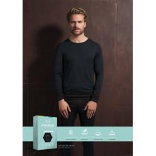Теплая мужская футболка СЕСЕИА длинный рукав арт001005